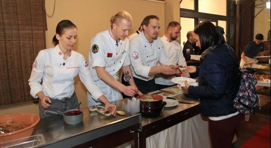Белорусские шеф-повара успешно презентовали национальную кухню на Сардинии>