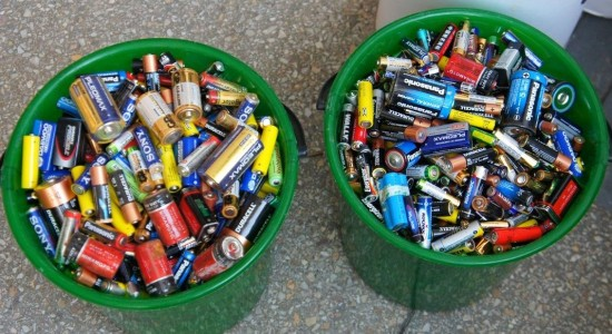 Батарейкам не место на свалке>