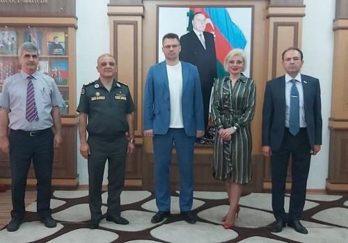 """""""Ваяры Азербайджана - героі зямлі беларускай"""">"""