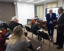 Презентация книги Я. Лауцюса «Благослови себя» с дополненной реальностью