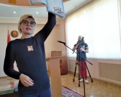 """""""Живая душа печатного слова"""": встреча в Слуцке с читателями"""
