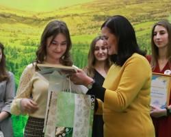 Награждение лауреатов 5 республиканского конкурса «Творчасць маладых педагогаў»